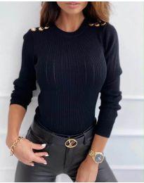 Bluza - cod 8727 - 3 - negru