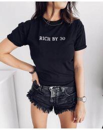 Tricou - cod 951 - 1 - negru