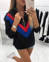 Bluza - cod 7890 - 4 - negru