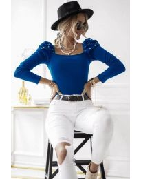 Bluza - cod 15766 - 2 - cer albastru