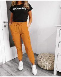 Pantaloni - cod 3089 - 3 - muștar