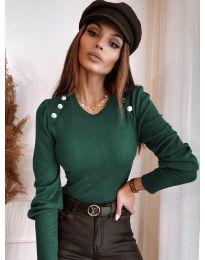 Bluza - cod 3111 - verde unt