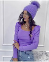 Bluza - cod 2180 - 3 - violet