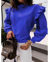 Bluza - cod 6613 - albastru închis