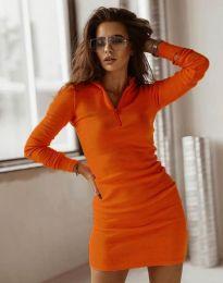 Rochie - cod 4288 - portocaliu