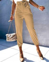 Pantaloni - cod 3905 - 4 - bej
