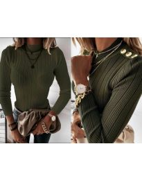 Bluza - cod 9930 - verde unt