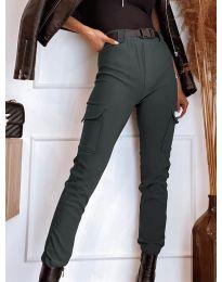 Pantaloni - cod 4842 - gri închis