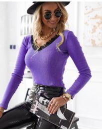 Bluza - cod 7706 - 2 - violet