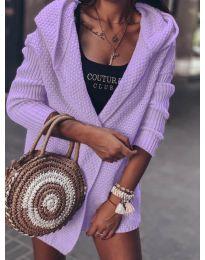 Cardigan - cod 7823 - violet deschis