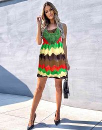 Rochie - cod 0969 - 2 - multicolor
