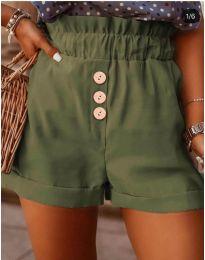 Pantaloni scurți - cod 9383 - verde