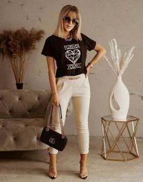 Tricou - cod 1547 - negru