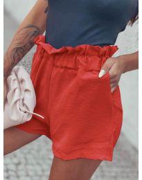 Pantaloni scurți - cod 4747 - coral