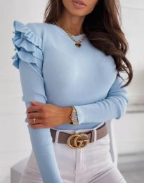 Bluza - cod 3608 - albastru deschis