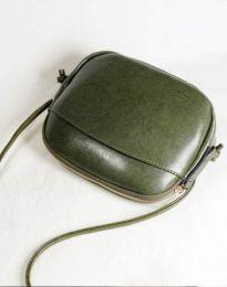 Geantă - cod B340 - verde unt