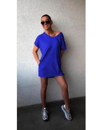 Rochie - cod 3080 - albastru închis
