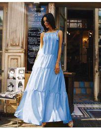 Rochie - cod 1105 - albastru deschis