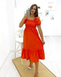Rochie - cod 3283 - 3 - portocaliu
