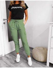Pantaloni - cod 3089 - 1 - verde