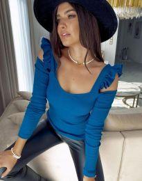 Bluza - cod 2380 - 5 - cer albastru