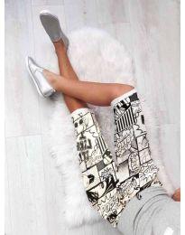 Pantaloni scurți - cod 189 - alb