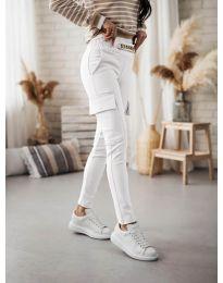 Pantaloni - cod 5130 - alb