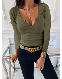 Bluza - cod 875 - verde unt