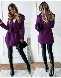 Palton - cod 643 - violet