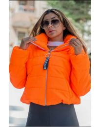 Geaca - cod 9161 - 6 - portocaliu
