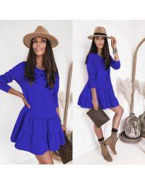 Rochie - cod 8486 - albastru