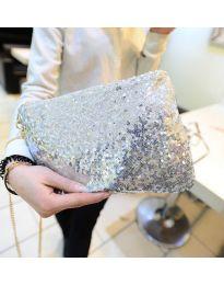 Geantă - cod B24 - argintiu