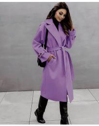 Palton - cod 410 - violet