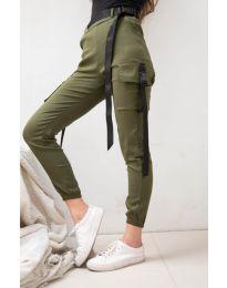 Pantaloni - cod 6967 - verde unt