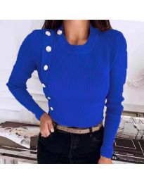 Bluza - cod 9989 - cer albastru