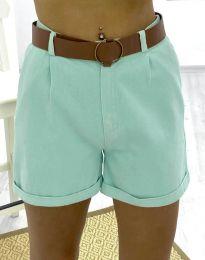 Pantaloni scurți - cod 2236 - 2 - mentă
