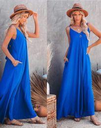 Rochie - cod 4673 - albastru