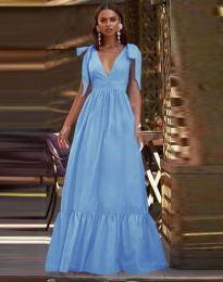 Rochie - cod 2743 - albastru deschis