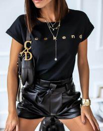 Tricou - cod 4318 - negru