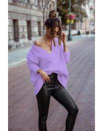 Pulover - cod 5952 - violet