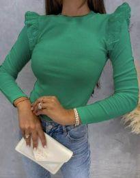 Bluza - cod 1663 - verde