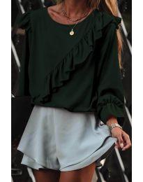 Bluza - cod 6009 - verde unt