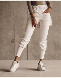Pantaloni - cod 5664 - alb