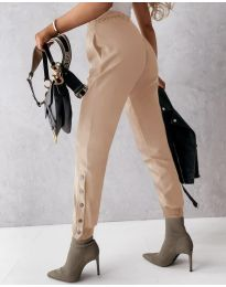 Pantaloni - cod 3987 - bej