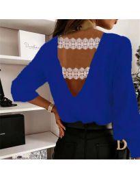 Bluza - cod 5155 albastru inchis
