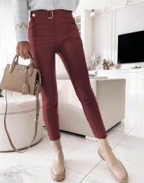 Pantaloni - cod 1567 - 1 - bordo