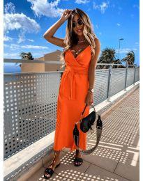 Rochie - cod 547 - portocaliu