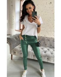 Pantaloni - cod 954 - verde unt