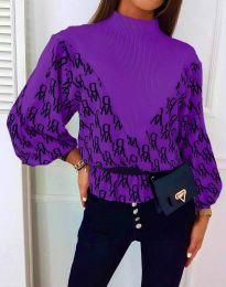 Bluza - cod 3829 - violet