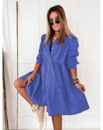 Rochie - cod 5557 - cer albastru